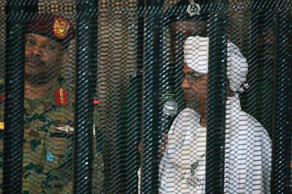 البشير ترأس اجتماعاً لقيادي المؤتمر الوطني داخل سجن كوبر