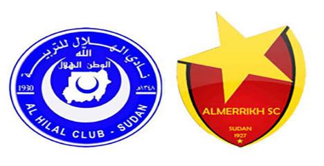 قمة سودانية بين الهلال والمريخ لحسم لقب الدوري الممتاز