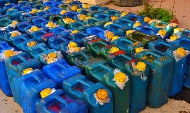 الشرطة الأمنية تضبط وقود مدعوم مهرب بنهر النيل