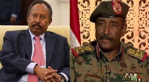 """نيويورك تايمز"""" """"خلاف بين البرهان والمدنيين في الحكومة السودانية"""""""
