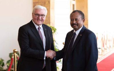 حمدوك: زيارة الرئيس الألماني تتويج لعلاقات البلدين