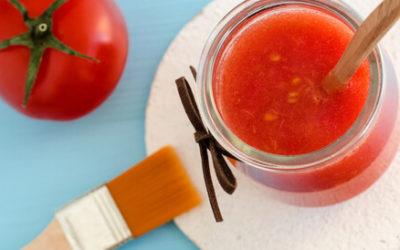 تعرفوا على فوائد الطماطم للبشرة