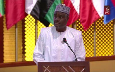 رئيس مفوضية الإتحاد الافريقي يصل السودان