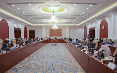الاجتماع المشترك لمجلسي السيادة والوزراء يجيز عددا من مشروعات القوانين