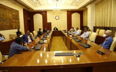 الآلية الاعلامية المشتركة تجتمع مع مديري القنوات التلفزيونية السودانية
