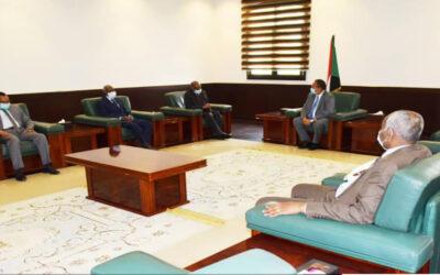 السودان وارتريا يؤكدان حرصهما على ترقية وتطوير العلاقات