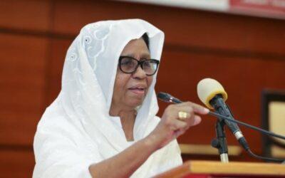 عائشة موسى: إطلاق سراح آخر 600 نزيل من نزلاء الحق العام بالخرطوم والولايات