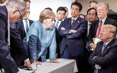 المستشارة الالمانية ترفض دعوة دونالد ترامب لحضور قمة الدول السبع