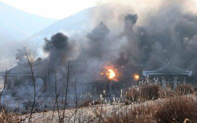 كوريا الجنوبية تتهم جارتها الشمالية بتفجر مكتب الاتصال الحدودي