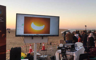 اول ظاهرة كسوف حلقي للشمس في 2020