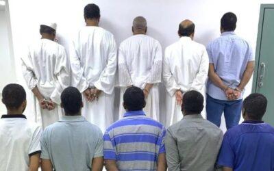 """السعودية: القبض على تنظيم اجرامي يضم """"9"""" سودانيين"""