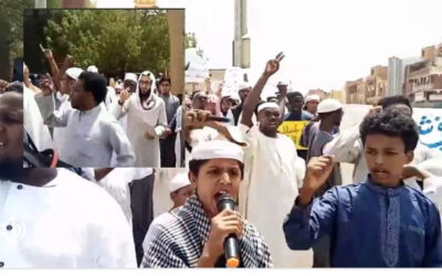 القبض على الأجانب الذين شاركوا في مظاهرات الأمس