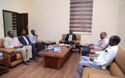 التعايشي يبحث قضايا السلام مع حركة تحرير السودان