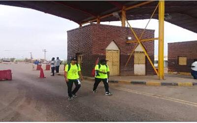 سيرًا على الأقدام من مدني الى الخرطوم من أجل تسليم مذكرة