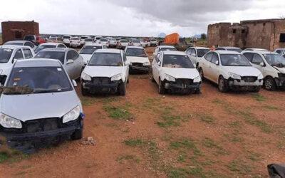 مطلع مارس المقبل بداية مصادرة السيارات غير المقننة وإعتبارها مهربة