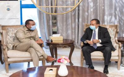 في إتصال هاتفي د. حمدوك يطمئن على الأوضاع في إثيوبيا