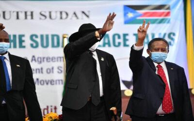 التوقيع علي إتفاق السلام لمسار المنطقتين