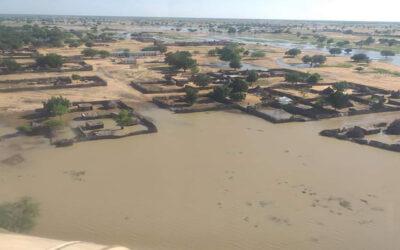 """تضرر """"3424"""" اسرة من السيول والامطار بالفردوس شرق دارفور"""