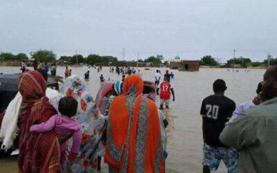 تسريب لمياه النيل الأزرق بمنطقة (العشرة) سنجة