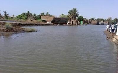 إنهيار 130 منزل بقرية الباقير بولاية نهر النيل