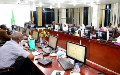 حكومة القضارف تجيز قانون الإعتماد المالي الإضافي للعام ٢٠٢٠