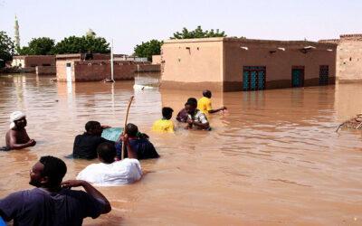 فيضانات السودان تتجاسر ..هل الانسانية تحتضر ؟