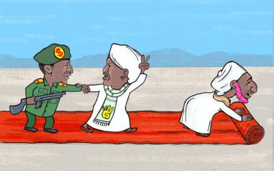 كاريكاتيـر … بقلم: عمـر دفع الله