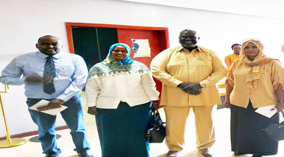 وفد صحفي رفيع من  ولاية شمال دارفور يصل جوبا