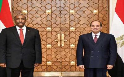 السيسي: ندعم خيارات الحكومة السودانية في صياغة مستقبل البلاد