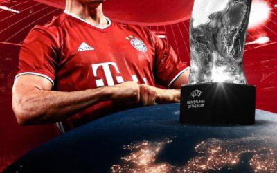 ليفاندوفسكي يتوهج بجائزة أفضل لاعب في أوروبا