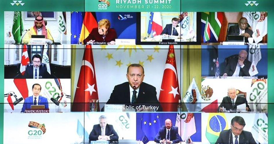إختتام قمة العشرين وتعليق مدفوعات الديون حتي يونيو 2021
