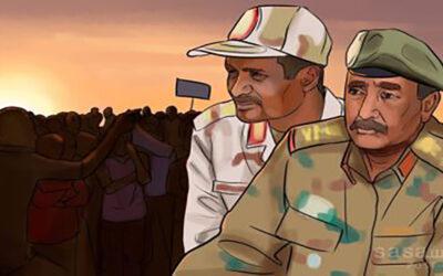 إتفاقية جوبا تحمى البرهان وحميدتي من الملاحقات القانونية