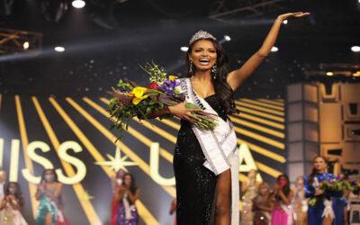 صومالية تفوز بلقب ملكة جمال أمريكا وتكلل بتاج صناعة إماراتية