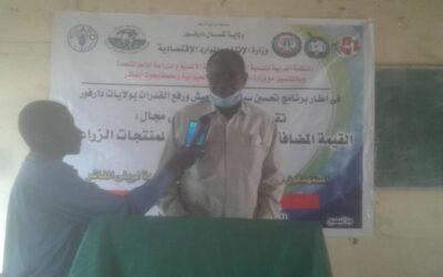 دورة لرفع القدرات في مجال القيمة المضافة والتصنيع الغذائي بشمال دارفور