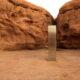 اختفاء الجسم الغريب الذي ظهر في صحراء يوتا الامريكية