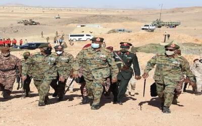 البرهان ينهي زيارته للمنطقة العسكرية الشرقية والجيش يواصل تقدمه