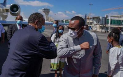 حمدوك ينهي بصورة مفاجئة زيارة رسمية إلى إثيوبيا