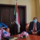 حمدوك يستقبل نائب رئيس