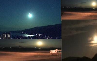 رصد شهاب ناري بحجم كرة في سماء اليابان