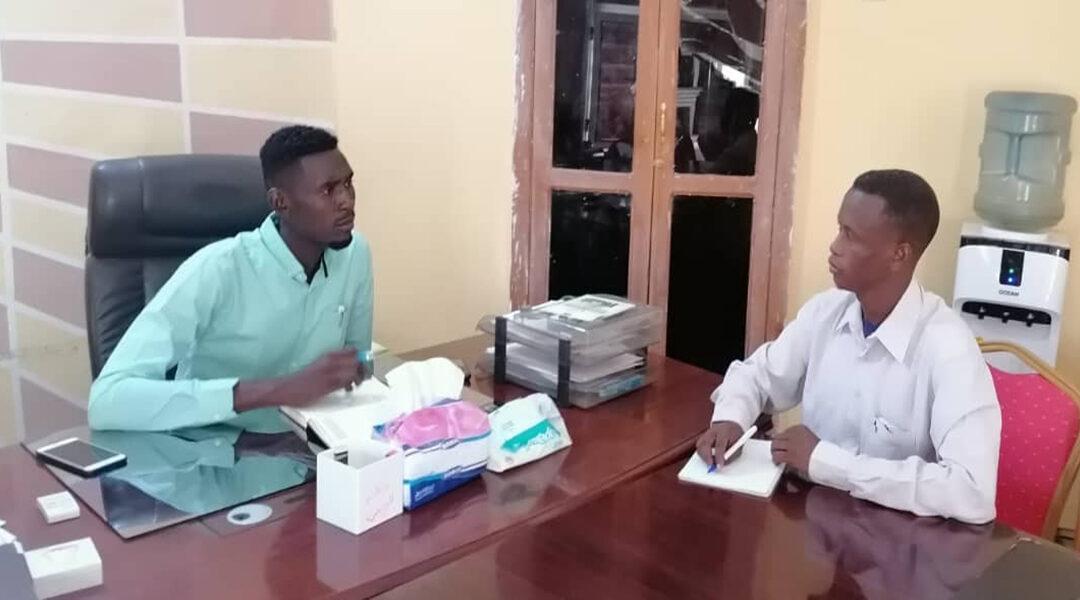 أمين عام مجلس الشباب والرياضة بالقضارف في ضيافة (سودان بوست):