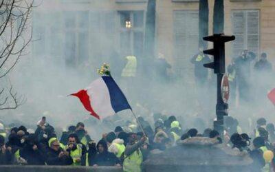 تظاهرات الدفاع عن الحقوق في فرنسا تؤدي لإصابة 67 شرطيا