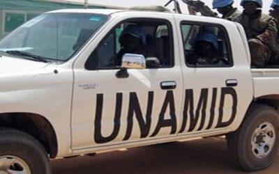 ولاية شمال دارفور تصدر بيانا بإنهاء مهام بعثة اليوناميد