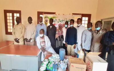 مُنظمة أجيال السلام تُدشن قافلة صحية في معسكر أبوجا