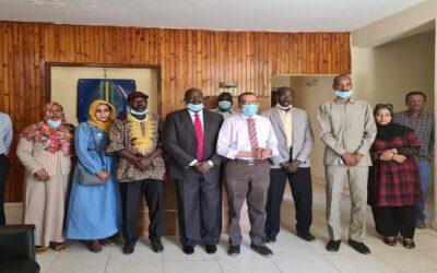 رئيس التحالف السوداني يبحث الراهن السياسي مع المؤتمر السوداني