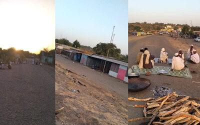 توقف الحياة بالكامل في الحدود بين القلابات السودانية و المتمة الاثيوبية