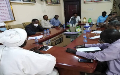 والي النيل الازرق: يؤكد الإلتزام بتأمين حقوق المواطنين بمواقع التعدين