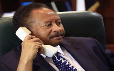 الأمين العام للأمم المتحدة يهاتف دكتور عبدالله حمدوك