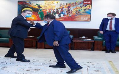 حمدوك يؤكد تعزيز التعاون بين السودان وألمانيا في كافة المجالات