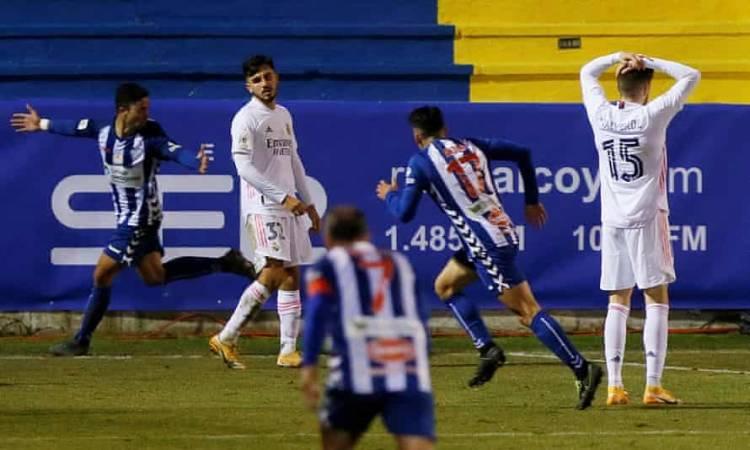 الكويانو من الدرجة الثانية يقصي الريال من كأس ملك اسبانيا