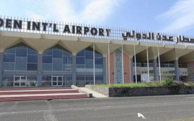 إستئناف الرحلات الجوية بمطار عدن بوصول طائرة من الخرطوم